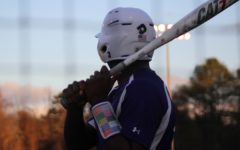 CENTRAL'S BASEBALL PLAYERS PREPARE FOR 2021 SEASON -- Senior Jailon Jackson steps up to the plate.