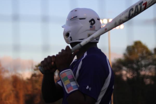 CENTRALS BASEBALL PLAYERS PREPARE FOR 2021 SEASON -- Senior Jailon Jackson steps up to the plate.