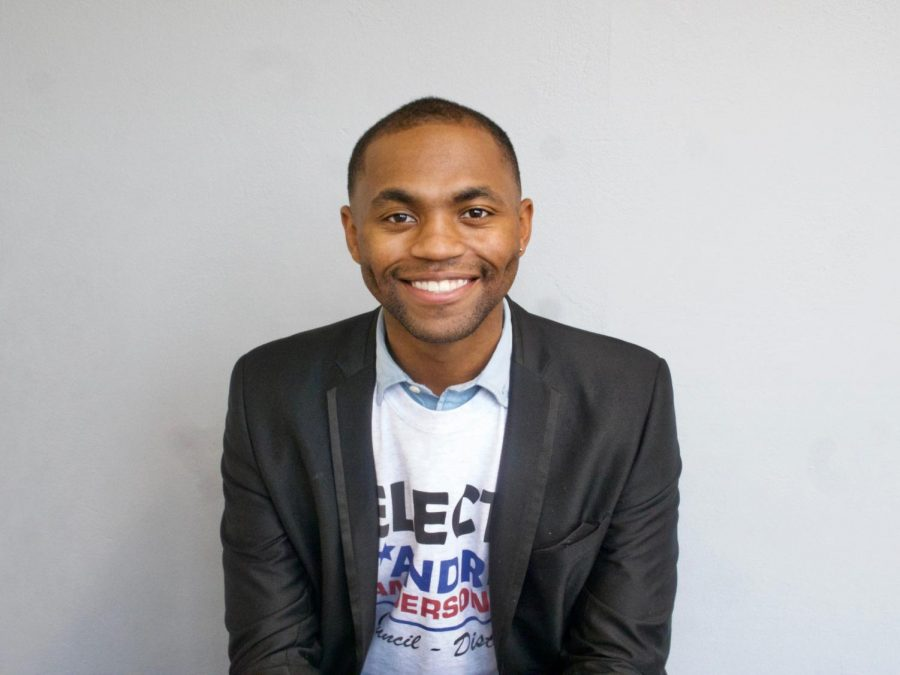 FELLOW CENTRAL ALUMNUS IS RUNNING FOR CHATTANOOGA CITY COUNCIL -- D'Andre Anderson is running for District 8 City Council.