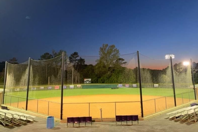 CENTRAL SOFTBALL PLAYERS AND COACHES PREPARE FOR 2021 SEASON-- The Central softball field photographed in 2020.