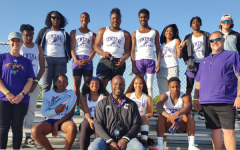 A SUCCESSFUL ENDING TO THE 2021 CENTRAL TRACK SEASON WITH JUNIOR NOAH COLLINS QUALIFYING FOR THE STATE MEET - The Central Track team gathers together for a group picture.