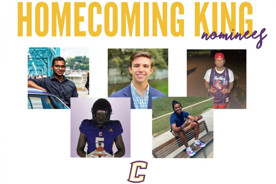 CANDIDATES FOR 2021 HOMECOMING KING -- The 2021 homecoming king candidates.