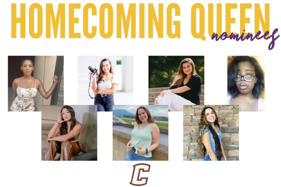 CANDIDATES FOR 2021 HOMECOMING QUEEN ANNOUNCED -- This is a graphic of all the homecoming queen nominees.