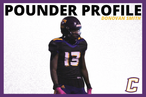 POUNDER PROFILE: FOOTBALL STAR DONOVAN -- Donovan Smith featured in picture designed by Karleigh Schwarzl.