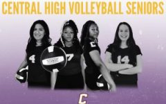 Seniors Makayla McCarthy,  Mikiah Tate, Addason Wellington, and Carmen Breitenbach, pictured pictured from left to right.